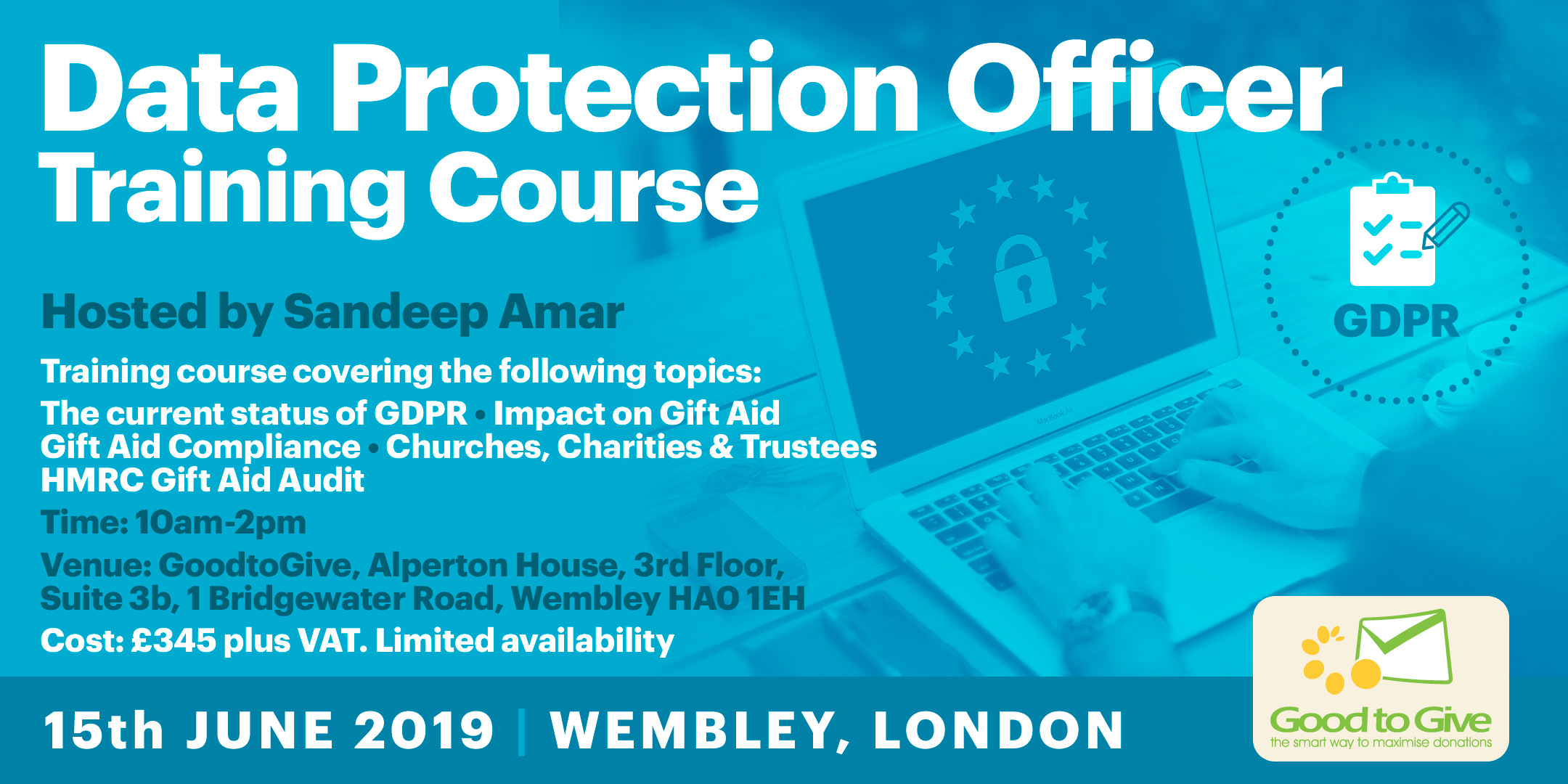 Data Protection Officer Training 15th June 2019